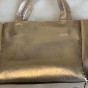 Coco + Carmen Bags - Coco + Carmen Gold Handbag NWT